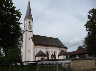 Fellach: Kath. Filialkirche St. Martin, 1727/28