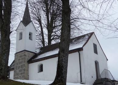 Großhartpenning: Kapelle St. Cosmas und Damian, erweitert 1890