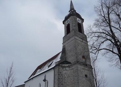 Großhartpenning: Kath. Pfarrkirche Mariä Heimsuchung, wohl 18. Jh.